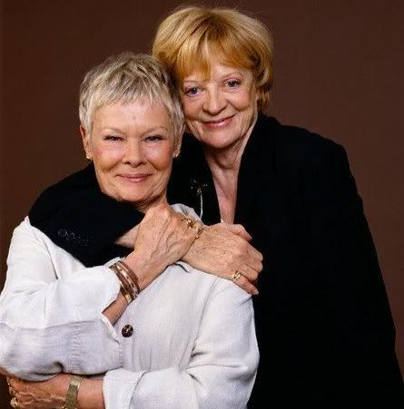 Judi Dench and Maggie Smith(2005) - judi-dench Photo