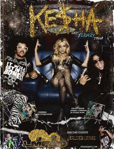 K$ & LMFAO Poster !