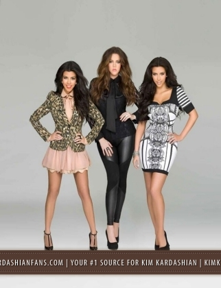 Kardashian Clothing Line on Kardashian Sears Fashion Line Photoshoot 2011   Khloe Kardashian Photo