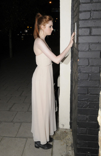 Karen Gillan @ London BFI 15/8/11