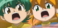 Kenta &amp; Yu Fighting As One - beyblade-metal-fusion photo