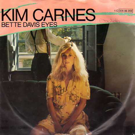 Kim Carnes: Bette Davis Eyes Album - (1981)