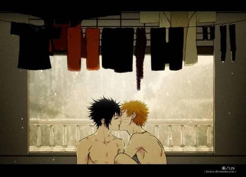 Kiss~SasuNaru
