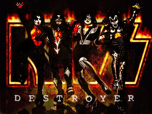 KISS wallpaper with a concert titled Kiss destroyer