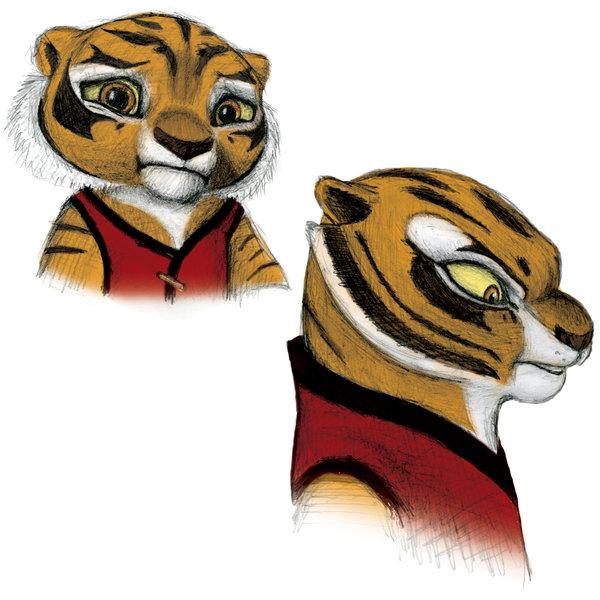 Kung fu panda tiger - photo#26