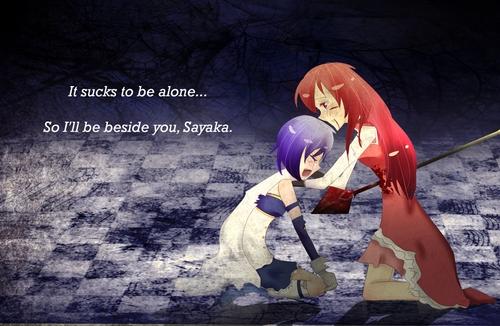 Kyouko x Sayaka <3