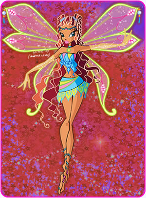 El Club Winx fondo de pantalla entitled Layla in Enchantix