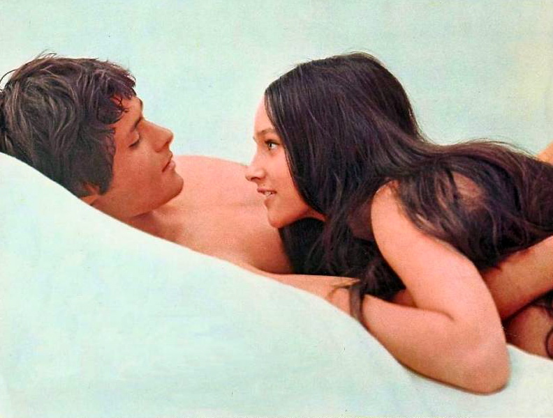Naked Video Featuring Olivia Hussey In The Movie Romeo And Juliet 16