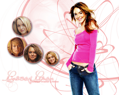 Lindsay Lohan wallpaper possibly with a pantleg and long trousers called Lindsay Lohan