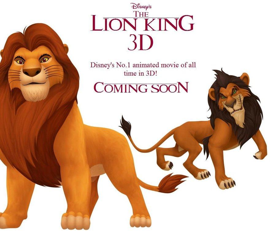 Lion King is back in 3D!