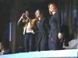 Lisa,Priscilla and Michael Jackson