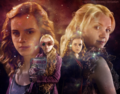 Luna and Hermione - luna-lovegood fan art