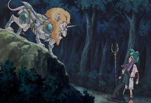 Luna from Yu-Gi-Oh! 5Ds Hintergrund entitled Luna