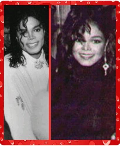 MICHAEL AND JANET JACKSON 1990