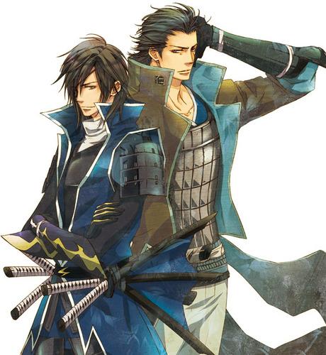 Masamune and Kojuuro