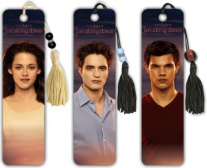 Merchandising: New &#39;Breaking Dawn&#39; Bookmarks - jacob-black Photo