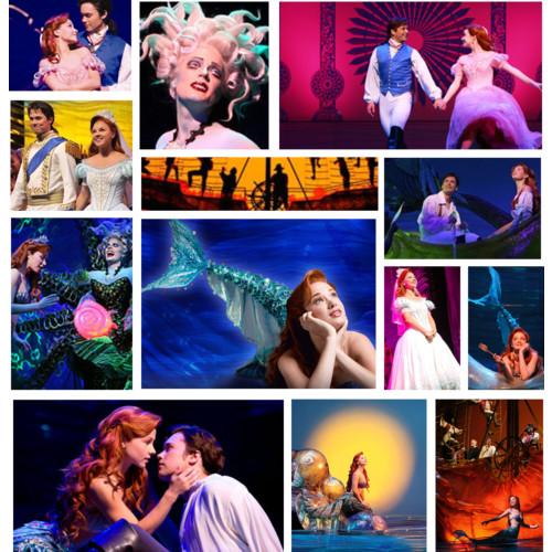 Mermaid Collage 3 The Little Mermaid On Broadway Photo