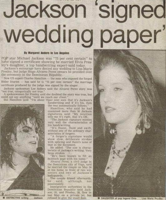 Lisa Marie Presley And Michael Jackson You Are Not Alone Lisa Marie Presley Michael