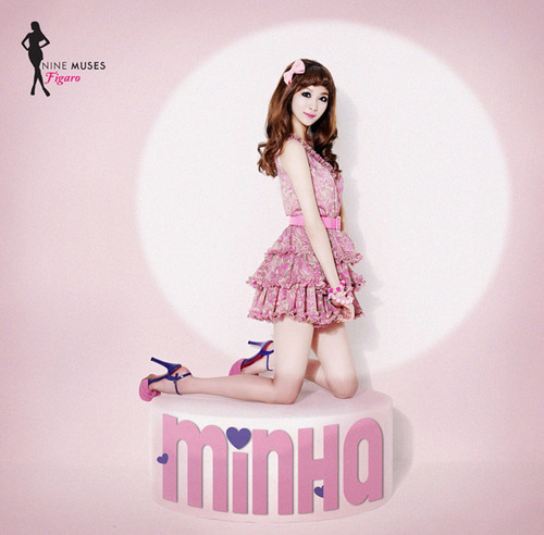 Nine Muses Обои entitled Minha - Figaro