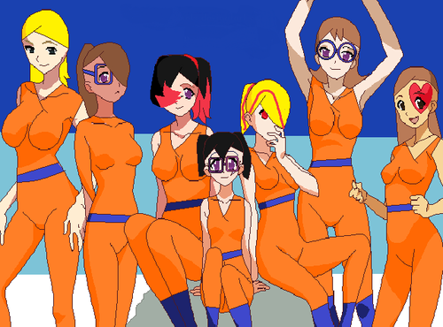 More girls - humanized-female-pom-ocs Photo