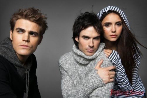New photoshoot of Paul,Nina and Ian for Rolling Stone magazine!