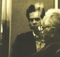Nick Cave with Johnny Cash