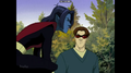 "Nightcrawler ""X-men: Evolution"" - nightcrawler screencap"