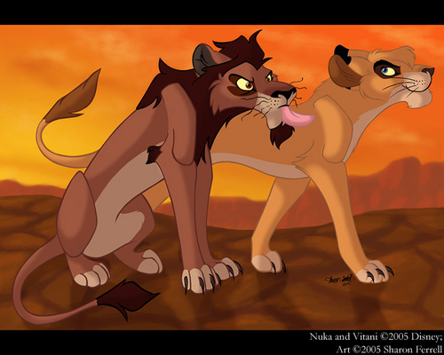 Nuka and Vitani