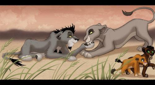 Nuka and a leona