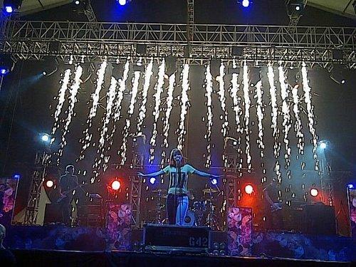 Paramore @GWK, Bali, Indonesia 17082011
