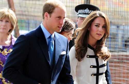 Prince William & Catherine Visit Birmingham After Riots