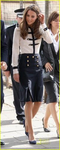 Prince William & Kate Visit Birmingham After Riots