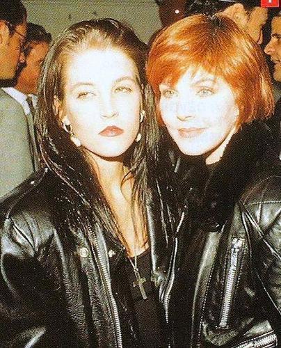 Priscilla and Lisa Marie