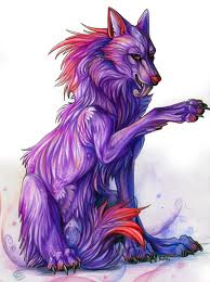 Purple loup