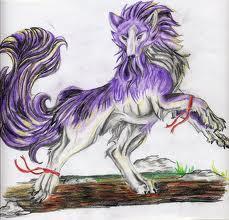 Purple chó sói, sói