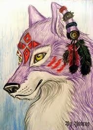 Purple 늑대