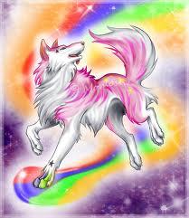 इंद्रधनुष भेड़िया