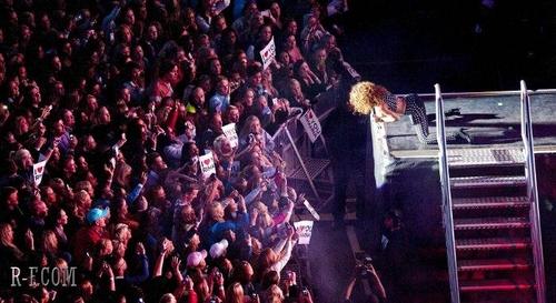 Rihanna - Bergen Calling festival in Norway - August 17, 2011