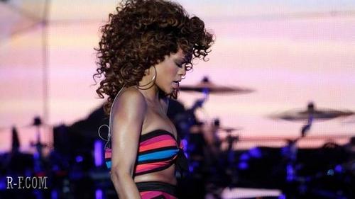 Rihanna - Bergen Calling festival in Norway - August 18, 2011