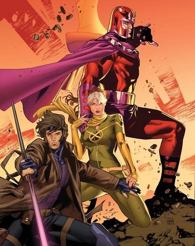 Rogue Gambit Magneto