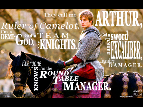 Ruler of Camelot - arthur-pendragon Fan Art