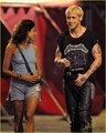 Ryan Gosling & Eva Mendes Get Back to the 'Pines' - ryan-gosling photo