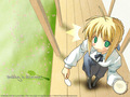 Saber ( Fate/Stay Night ) - fate-stay-night wallpaper