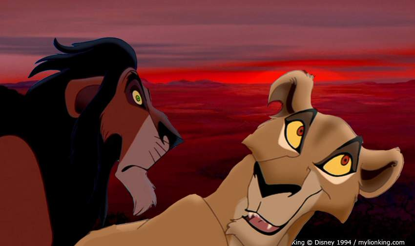 Scar and Zira - Scar and Zira Fan Art (24632101) - Fanpop