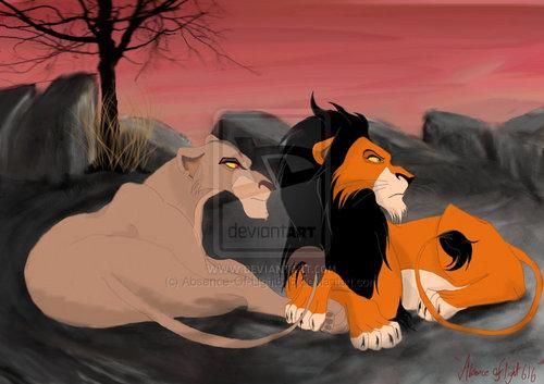 Scar and Zira
