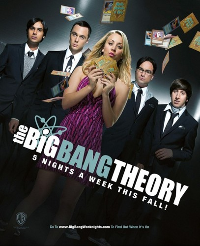 Season 5 - Poster - the-big-bang-theory Photo
