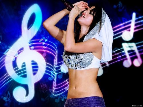Selena ♥♥♥ karatasi la kupamba ukuta