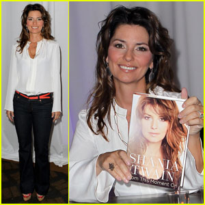 Shania Twain: Brunch & Book Signing