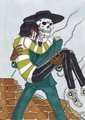 Skul and Caelan - skulduggery-pleasant fan art