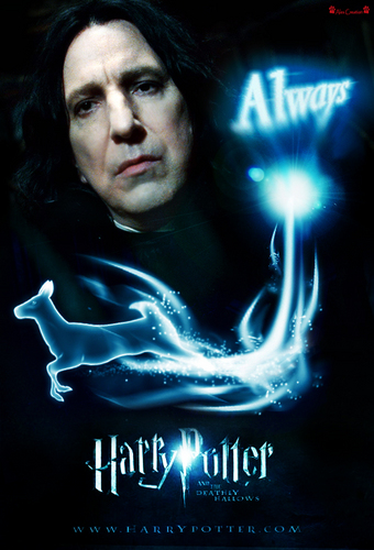 Snape Movie Banner